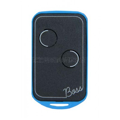 telecomando quarzato 26,720 mhz boss-qc2 blu