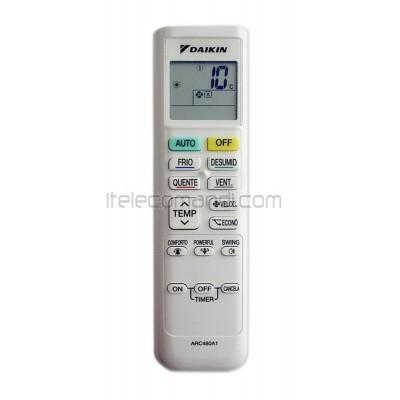 Telecomando ARC 480A1 per climatizzatori Daikin