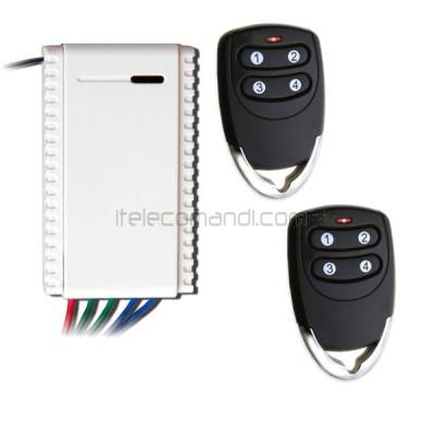 kit ricevitore R5111 con 2 telecomandi