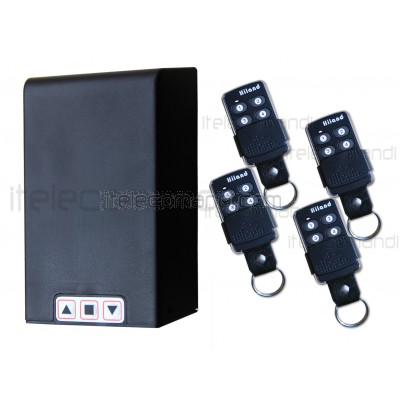 kit centralina serranda con telecomando