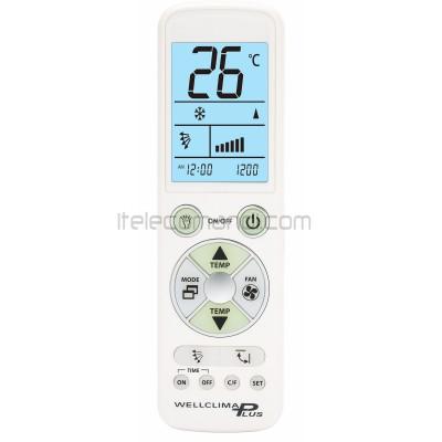 telecomando universale condizionatore wellclima plus CHAFFOTEAUX & MAURY