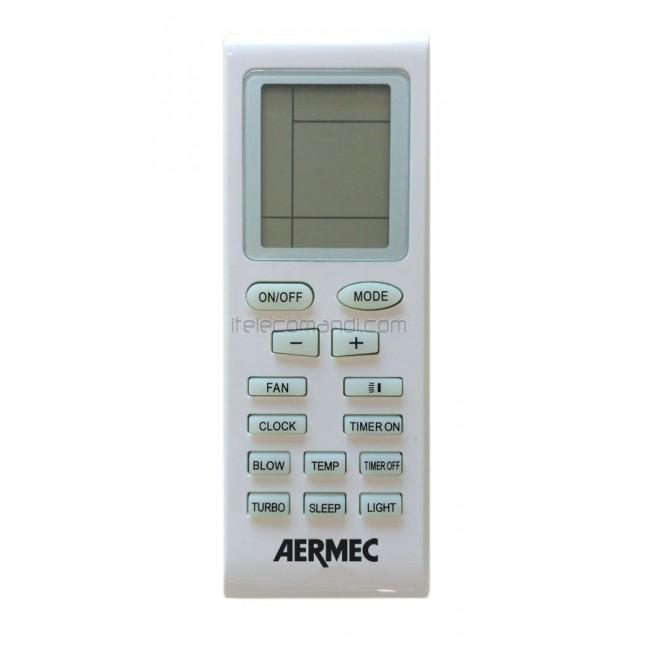 Telecomando climatizzatore yb1fa aermec condizionatore for Manuale termostato perry