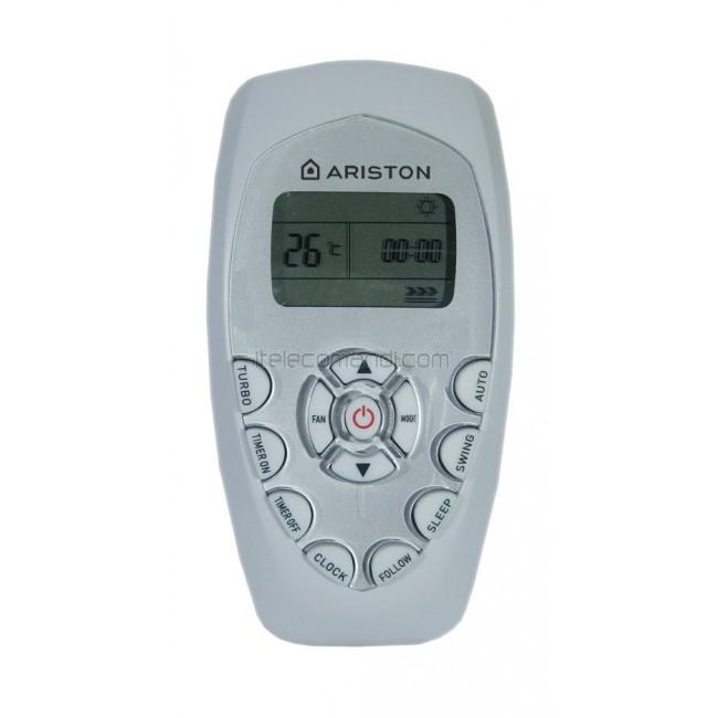 Telecomando climatizzatore ariston dg11e4 07 for Istruzioni caldaia ariston