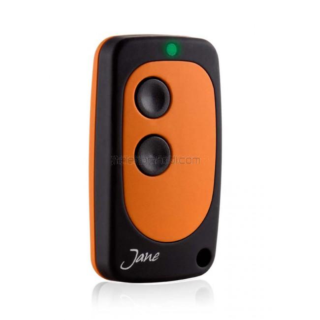 JANE V Telecomando compatibile con radiocomandi a codice fisso multifrequenza
