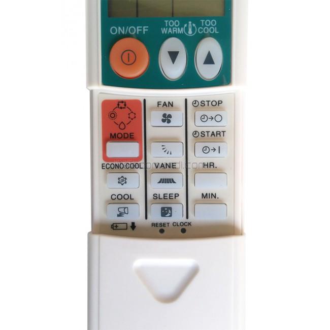 Telecomando Ricambio Per Mitsubishi Electric Kp3bs Km04f