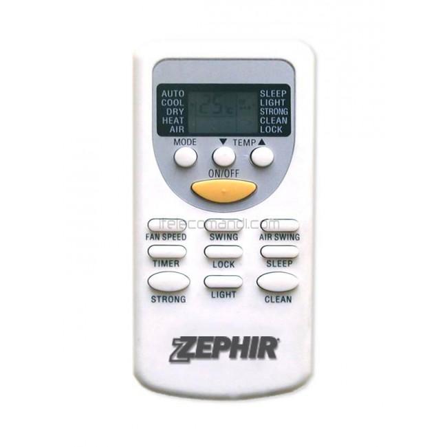 Telecomando climatizzatore zephir zh jt 01 condizionatore - Condizionatore portatile zephir ...