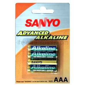 Sanyo alkalina 1,5V ministilo AAA LR03