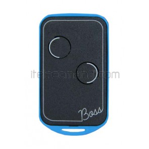 telecomando quarzato 30,900 mhz boss-qc2 blu