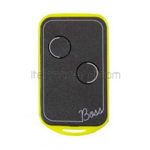 telecomando quarzato 29,820 mhz boss-qc2 giallo