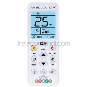 telecomando universale condizionatore wellclima smart per smartphone