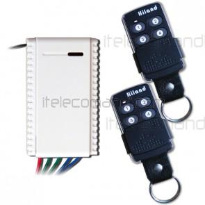 kit ricevitore R5111 con 2 telecomandi t6502